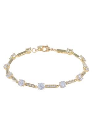 SNÖ of Sweden Elaine Bracelet Gold/Clear One size
