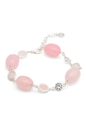 SNÖ of Sweden Emilia Mix Bracelet S/pink One size