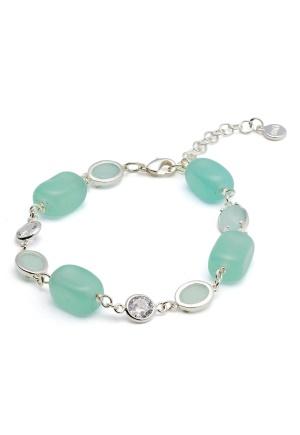 SNÖ of Sweden Emilia Mix Bracelet S/Mint One size