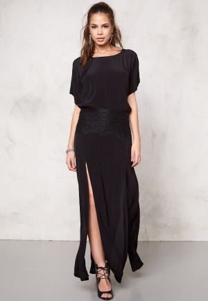 F.A.V Lily Lace Long Black 1