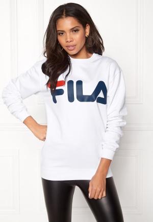 FILA Basic Classic Logo Sweat Bright White XS