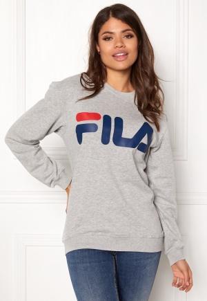 FILA Basic Classic Logo Sweat Light Grey L