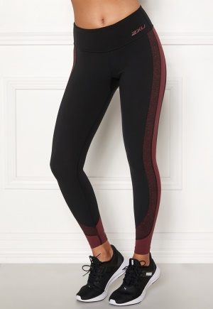 2XU Fitness Mid Rise LineUp Tights BLK/WTP S