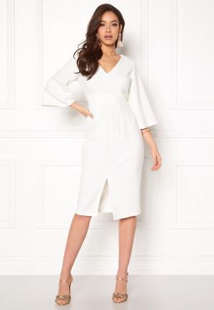 Closet London Flared Pencil Dress White XS (UK8)