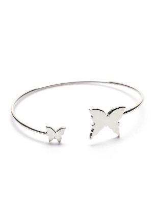 Gynning Jewelry Floating Butterfly Silver 19 cm