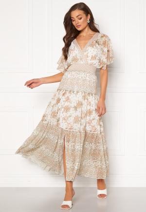 FOREVER NEW Darla Tiered Maxi Dress Jacobean Blossom 34
