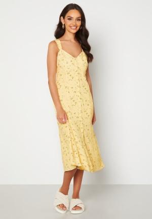 FOREVER NEW Frankie Button Through Sun Dress Lemonade Ditsy 34