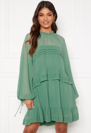 FOREVER NEW Inez Tiered Mini Dress Mint 36