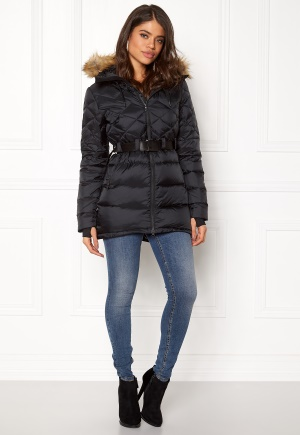 Mountain Works Foxy Lace Down Parka Black L