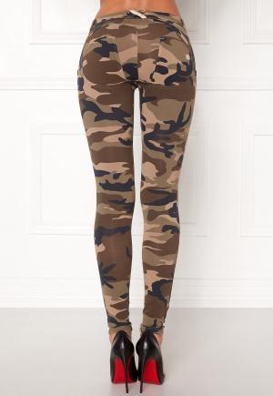 FREDDY Skinny Shaping Lw Legging M95M Kamouflage M
