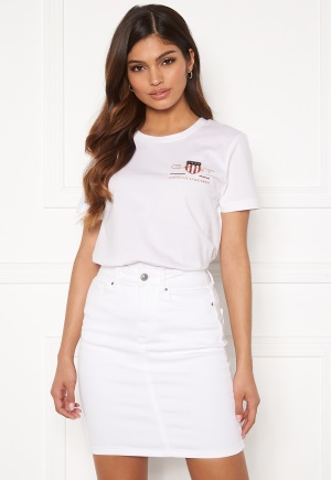 GANT Archive Shield SS T- Shirt 110 White110 White S