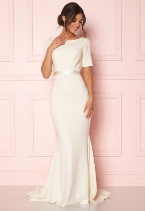 Zetterberg Couture Gavi Dress Light Creme 34