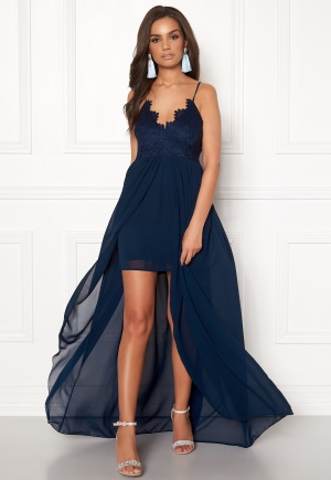 Girl In Mind Maddie Lace Maxi Dress Navy S (UK10)