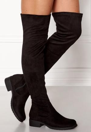 Glossy Freemont Overknee Black 36 (UK3)