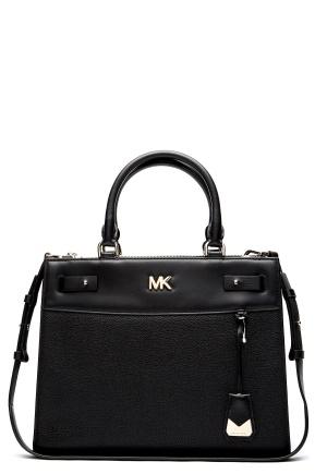 Michael Michael Kors Gramercy MD Satchel 001 Black One size