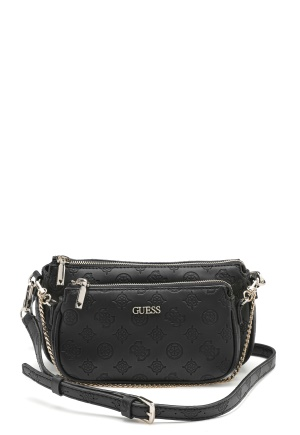 Guess Dayane Double Pouch Black One size