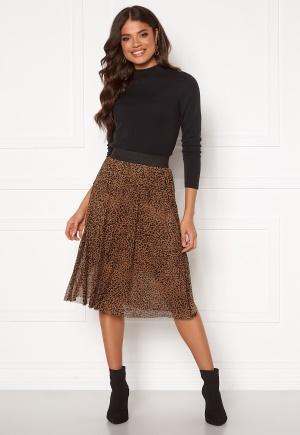Happy Holly Alaina mesh skirt Leopard 52/54
