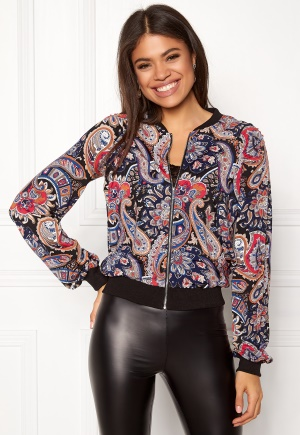 Happy Holly Alison jacket Blue / Patterned 44/46 Happy Holly