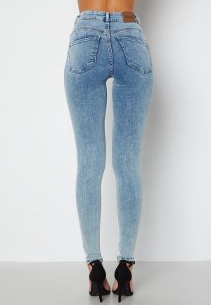 Happy Holly Amy push up jeans Light denim 52S