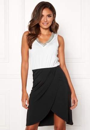 Happy Holly Anya dress Black / Offwhite 52/54