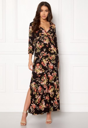 Happy Holly Betty maxi dress Black / Patterned 32/34S