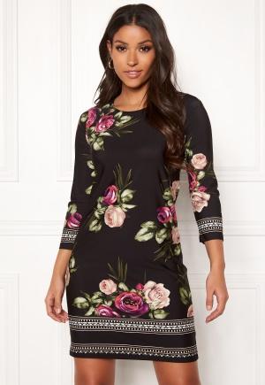 Happy Holly Blenda dress Pink / Floral 44/46S