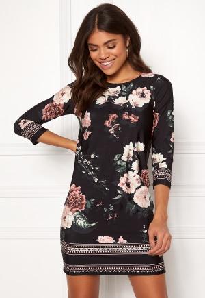 Happy Holly Blenda dress Patterned   Black 39e7adcb6cf9a