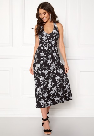 Happy Holly Cathrine halter dress Black / Offwhite 32/34L