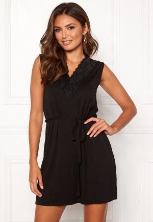 Happy Holly Chloe tunic Black 32/34