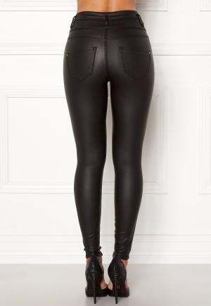 Happy Holly Daniella coated pants  Black 36R