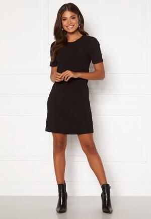 Happy Holly Emilia puff dress Black 36/38