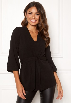 Happy Holly Estelle kimono jacket Black 32/34
