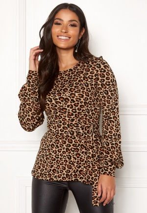 Happy Holly Gianna top Leopard / Patterned 44/46