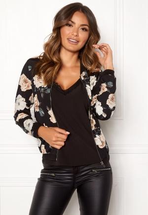 Happy Holly Hanna jacket Black / Patterned 44/46 Happy Holly