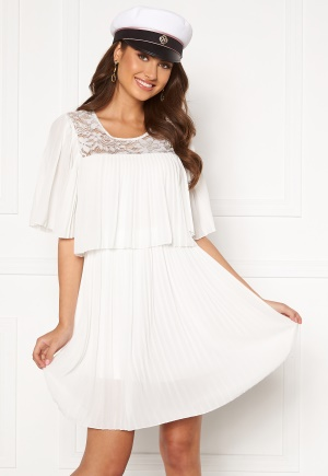 Happy Holly Jannica short dress White 32/34