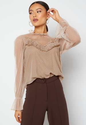 Happy Holly Jessica top  Beige 52/54