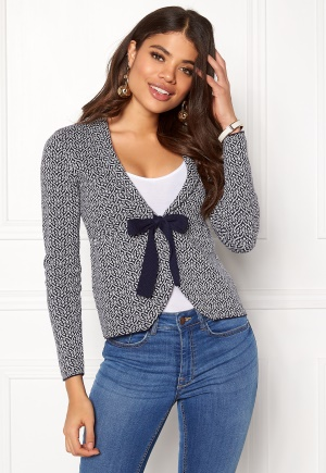 Happy Holly Kara cardigan Navy / Offwhite 48/50