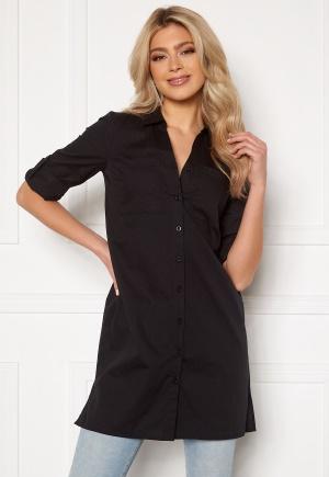 Happy Holly Katrina long shirt Black 44/46