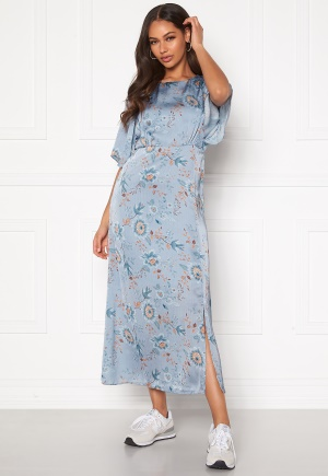 Happy Holly Mila dress Light blue / Patterned 48