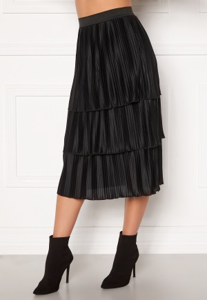 Happy Holly Naomi pleated skirt Black 36/38