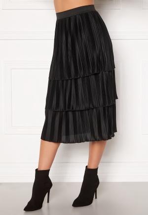 Happy Holly Naomi pleated skirt Black 36/38