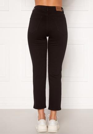 Happy Holly Peggy straight leg jeans Black denim 52