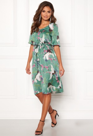 Happy Holly Violet dress Patterned 40/42