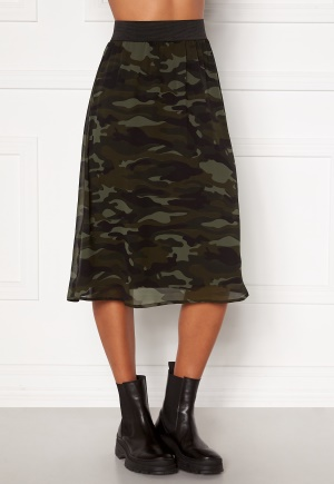 Happy Holly Zoey asymmetric skirt Camouflage 44/46