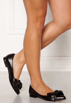 Heelow Sophia Leather Bow Svart Skinn 37