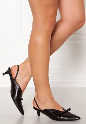 Henry Kole Amelie Leather Sandals Black 36