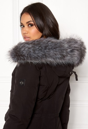 Hollies Collar Fake Fur Silver One size thumbnail