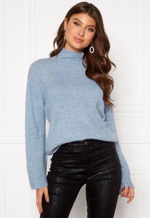 ICHI Amara LS Knit Pullover Country Blue L