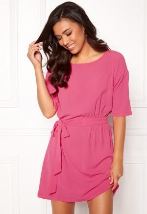ICHI Asti Dress 16669 Shocking Pink XL