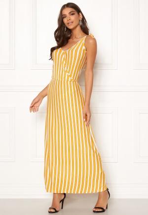 ICHI Clayton Dress 17018 Old Gold L